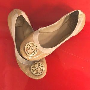 Tory Burch Caroline Patent Ballet Flats